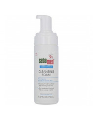 Sebamed Clear Face Cleansing Foam pH 5.5 for Acne Prone Skin Gentle Deep Pore Cleanser with Provitamin B5 5.0 Fluid Ounces (150 Milliliters).