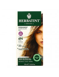 Herbatint 6N Permanent Herbal Dark Blonde Haircolor Gel Kit - 3 per case.