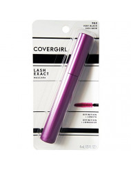 CoverGirl LashExact Mascara, Very Black [900] 0.13 oz (Pack of 3)
