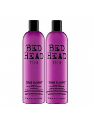 TIGI Bed Head Dumb Blonde Shampoo and Reconstructor Conditioner Duo - 25.36oz each