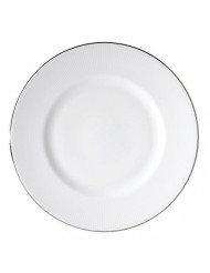 Vera Wang Wedgwood Blanc Sur Blanc Accent Plate