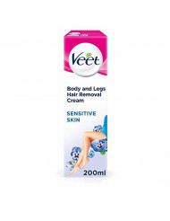 Veet Hair Removal Cream Sensitive Skin with Aloe Vera & Vitamin E (200ml)