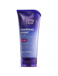 Clean & Clear Blackhead Clearing Scrub, 5-Ounce Tubes (Pack of 4)
