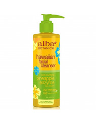 Alba Botanical Facial Cleanser Pineapple Enzyme, 8 Ounce (Pack of 6)
