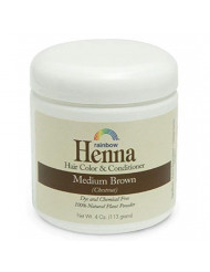 Rainbow Research Persian Medium Brown Henna, 4 Ounce - 6 per case.