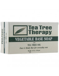 Tea Tree Therapy Vegetable Base Soap with Tea Tree Oil - 3.9 oz