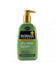 ShiKai Borage Dry Skin Therapy Lotion - Adult Formula, 8 Ounce - 3 per case.