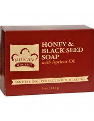 Nubian Heritage Soap Bar Honey Blk Seed