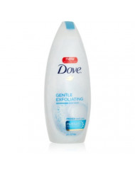 Dove Gentle Exfoliating Nourishing Body Wash, 22 Ounce (Pack of 3) (Packaging May Vary)