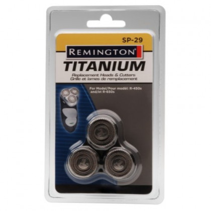 Remington SP-29 Replacement Cutters and Heads, Silver