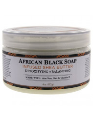 Nubian Heritage Shea Butter Lotion, African Black, 4 Ounce