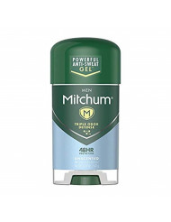 Mitchum Anti-Perspirant and Deodorant, Power Gel, Unscented, 2.25 Ounce (Pack of 6)packaging may vary