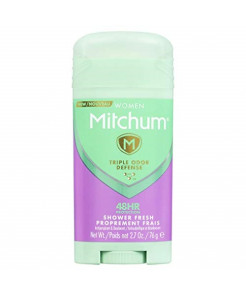 Mitchum Anti-Perspirant & Deodorant for Women, Power Gel, Powder Fresh, 3.4 oz (96 g) (Pack of 4)