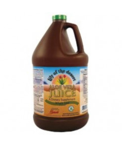 Lily Of The Desert Organic Whole Leaf Aloe Vera Juice, 1 Gallon -- 4 per case.