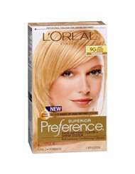 Superior Preference Rich Luminous Conditioning Colorant, Level 3 Permanent, Light Golden Blonde/Warmer 9G (Pack of 3)