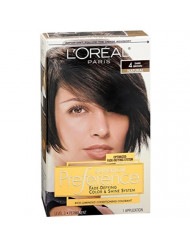 Superior Preference Fade-Defying Color and Shine System, Level 3 Permanent, Dark Brown/Natural 4 (Pack of 3)