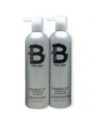 TIGI Bead Head for Men Charge UP Thickening Shampoo & Conditioner Duo 25.36 oz EACH