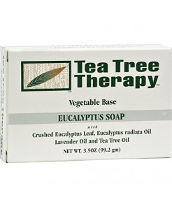 Tea Tree Therapy Tea Tree Soap Eucalyptus 3.5 Oz