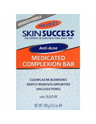 Palmer's Skin Success Eventone Medicated Anti-Acne Complexion Soap Bar | 3.5 Ounces (Pack of 12)