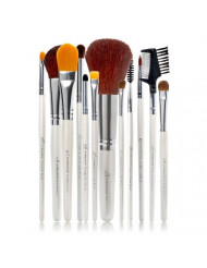 e.l.f. Professional Set of 12 Brushes for a Flawless Finish, Synthetic