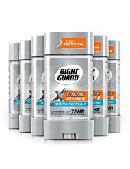 Right Guard Total Defense Power Gel Anti-Perspirant Deodorant, Artic Refresh, 4-Ounce Tube (Pack of 6)