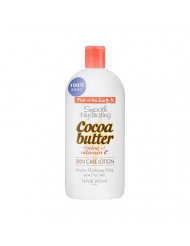 Fruit Of The Earth Smooth Hydrating Cocoa Butter With Aloe & Vitamin E Skin Care Lotion, 16 Oz