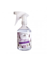 Pre De Provence Maison French Lavender Blossom Linen Water with Sprayer for Ironing or Fragrance