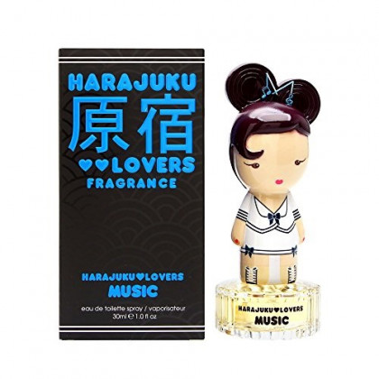 Harajuku Lovers Music By Gwen Stefani For Women Edt Spray 1 Oz