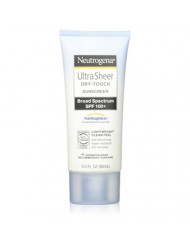 Neutrogena Ultra Sheer Dry-Touch Sunscreen, SPF 100, 3 Ounces (Pack of 2)