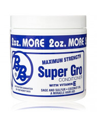 Bronner Brothers Double Strength Super Gro Maximum, 6 Ounce