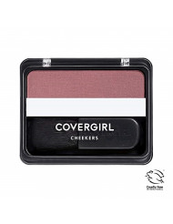COVERGIRL Cheekers Blendable Powder Blush Plum Plush, .12 oz (packaging may vary), 1 Count