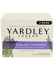 Yardley Bar Soap, English Lavender, 2 Count