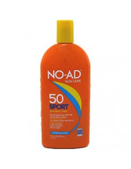 NO-AD Sport Sunscreen Lotion, SPF 50 16 oz