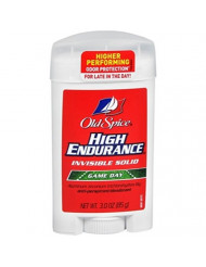 Old Spice High Endurance Anti-Perspirant/Deodorant, Invisible Solid, Game Day, 3 oz.