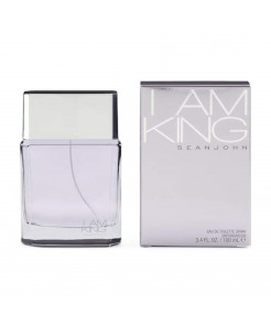 Sean John I Am King Eau De Toilette Spray for Men 3.4 oz - New in Box