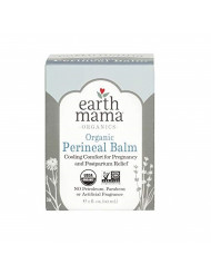 Organic Perineal Balm by Earth Mama | Naturally Cooling Herbal Salve for Pregnancy and Postpartum Relief, 2-Fluid Ounce