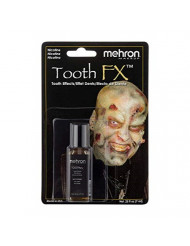 Mehron Makeup Tooth FX with Brush (.25 ounce) (Nicotine)