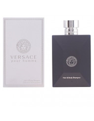 Versace Signature Pour Homme Hair and Body Shampoo 8.4 Ounces
