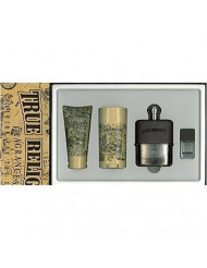 True Religion 3.4oz. 4pc Set Men Spray