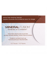 Mineral Fusion Shine Free Blotting Tissues, 100 Ea, 100count