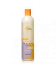 Earth Science Fragrance Free Shampoo with mild coconut-based cleansers for sensitive scalp & hair - 12 oz. (Pack of 2)