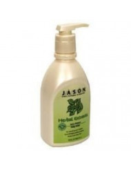 Jason Natural Products Herbal Extracts Satin Shower Body Wash, 30 Ounce - 3 per case.