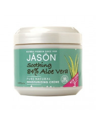 Jason Soothing Aloe Vera 84% Moisturizing Creme 4 oz (Pack of 8)
