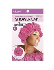Magic Brand Waterproof Shower Cap w/ Elastic Band Extra Large-Assorted Colors