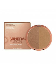 Mineral Fusion Bronzer Duo Luster, 0.29 Oz