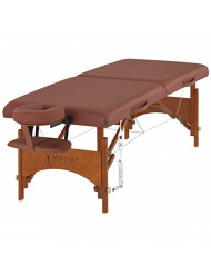 Master Massage Fairlane Therma-Top 28Inch Portable Massage Table Package, Cinnamon Color, Adjustable Heating System