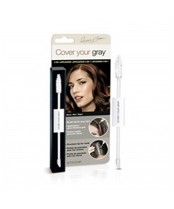 Cover Your Gray 2in1 Wand and Sponge Tip Applicator - Black