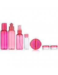 Mon Image 7 Piece Travel Bottle Pack, Colors may vary