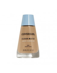 CoverGirl Clean Oil Control Liquid Makeup, Creamy Beige  550, 1.0-Ounce Bottles (Pack of 2)