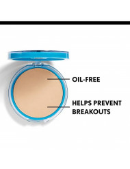 CoverGirl Clean Oil Control Pressed Powder, Soft Honey (W) 555, 0.35-Ounce Pan (Pack of 2)